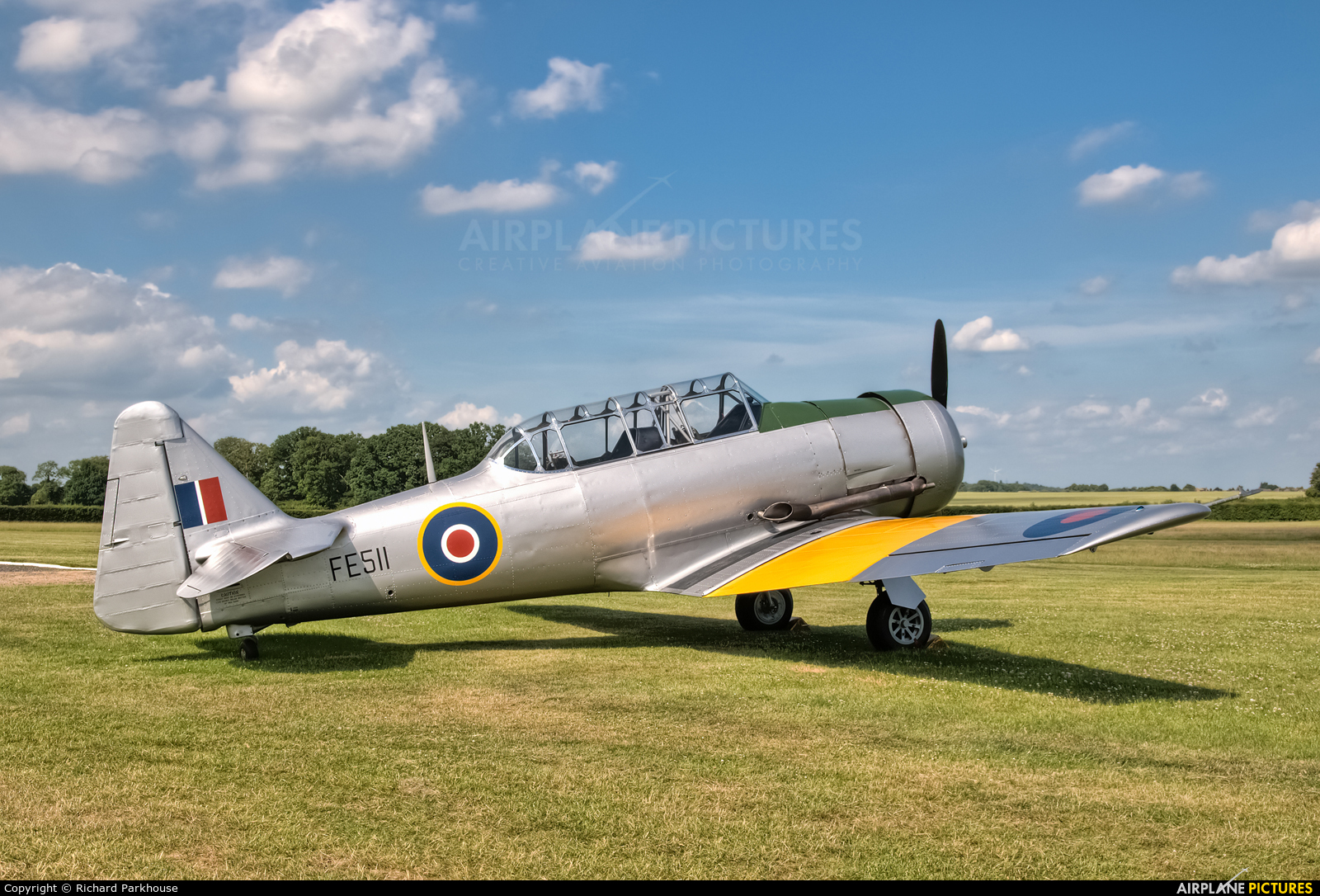 The Shuttleworth Collection FE511 aircraft at Old Warden