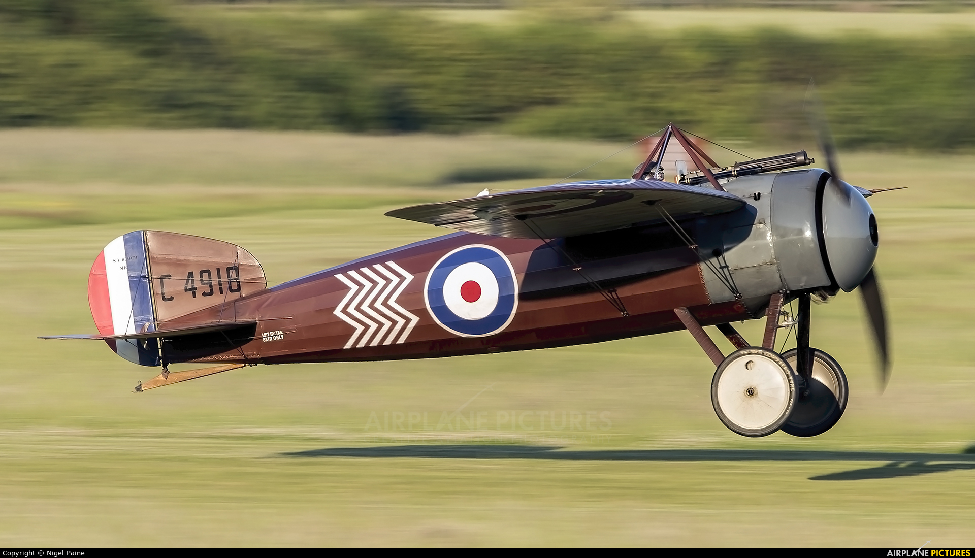The Shuttleworth Collection G-BWJM aircraft at Old Warden