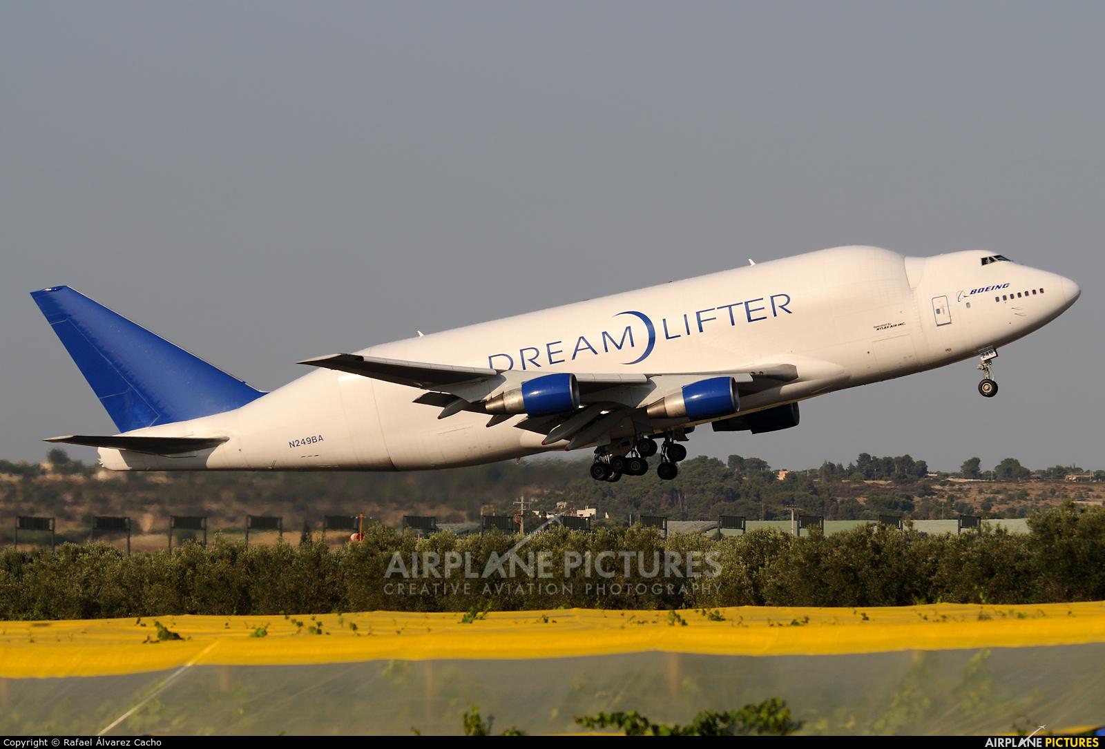 Boeing Company N249BA aircraft at Taranto-Grottaglie Airport