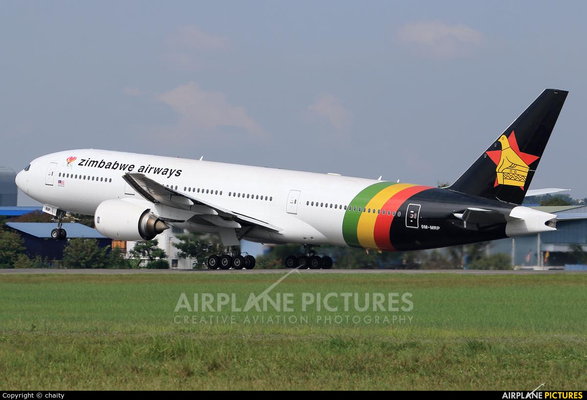 Zimbabwe Airways 9M-MRP aircraft at Subang - Sultan Abdul Aziz Shah