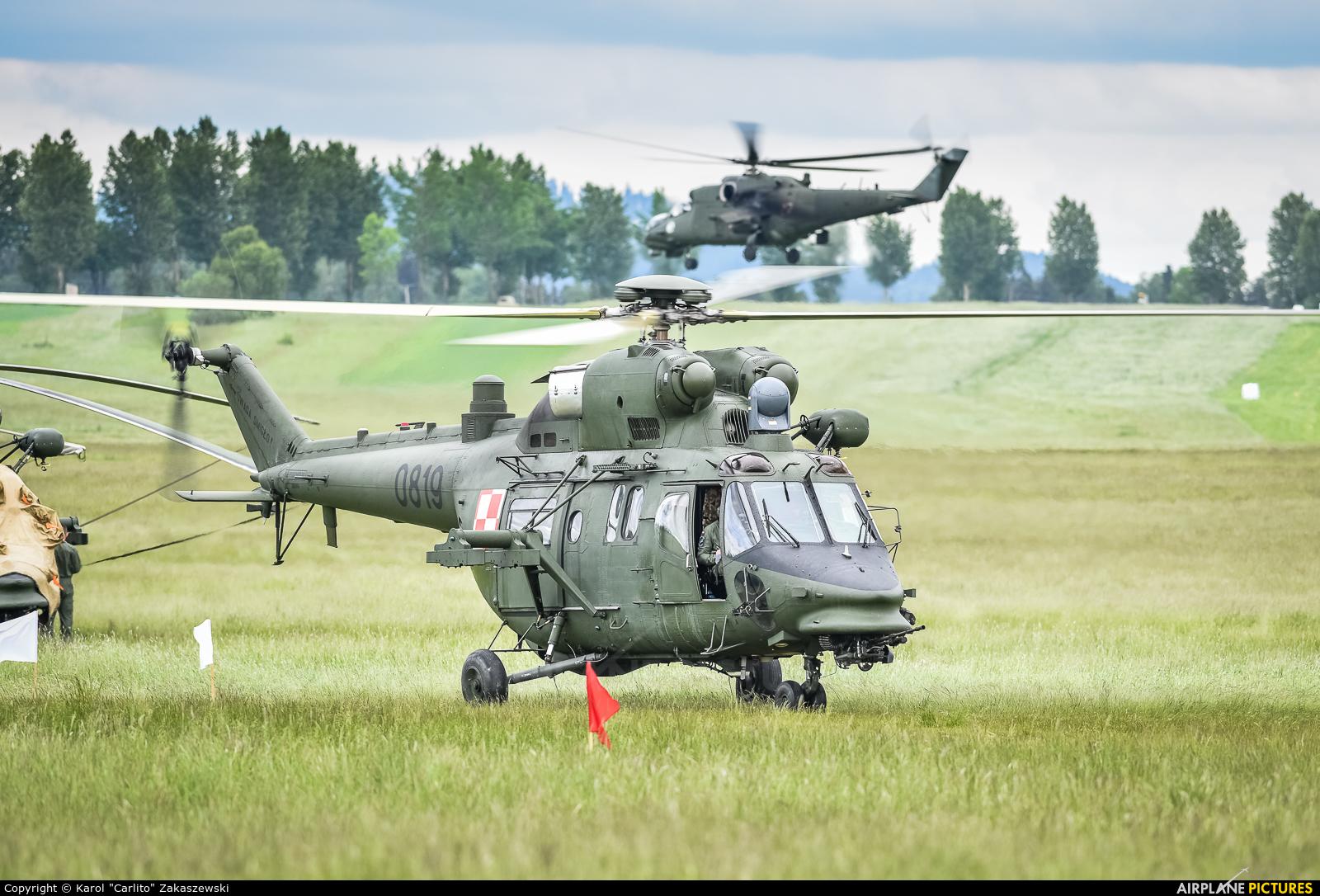 Poland - Army 0819 aircraft at Nowy Targ