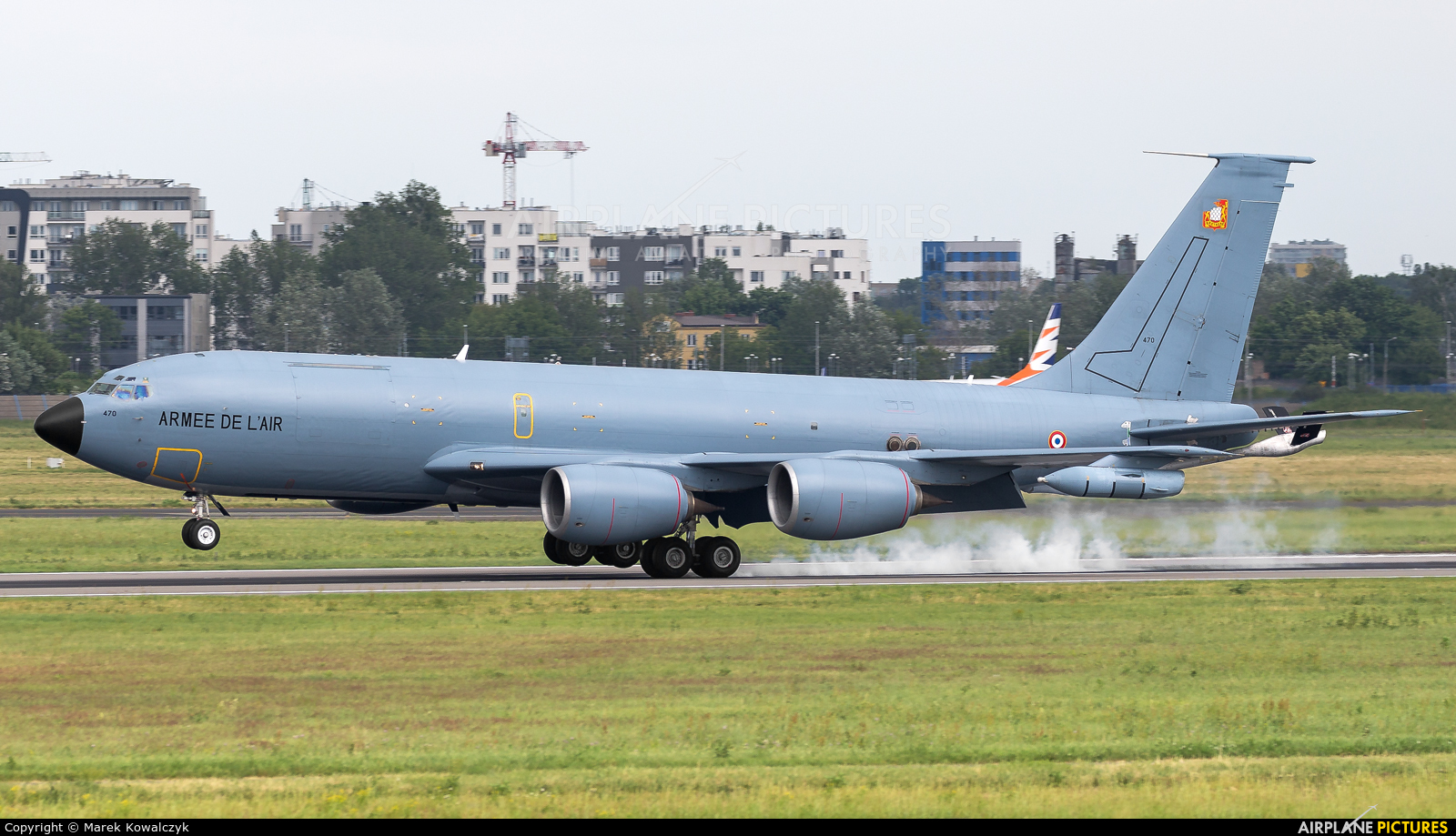 France - Air Force 470 aircraft at Warsaw - Frederic Chopin