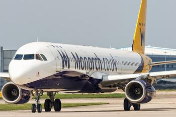 G-OZBF - Monarch Airlines Airbus A321