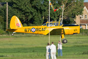 G-BNZC - The Shuttleworth Collection de Havilland Canada DHC-1 Chipmunk aircraft