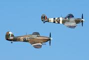 "PZ865 - Royal Air Force ""Battle of Britain Memorial Flight&quot Hawker Hurricane Mk.IIc aircraft"