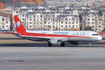 B-8658 - Sichuan Airlines  Airbus A321