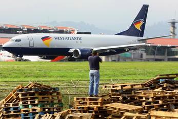 N859AU - West Atlantic Boeing 737-400