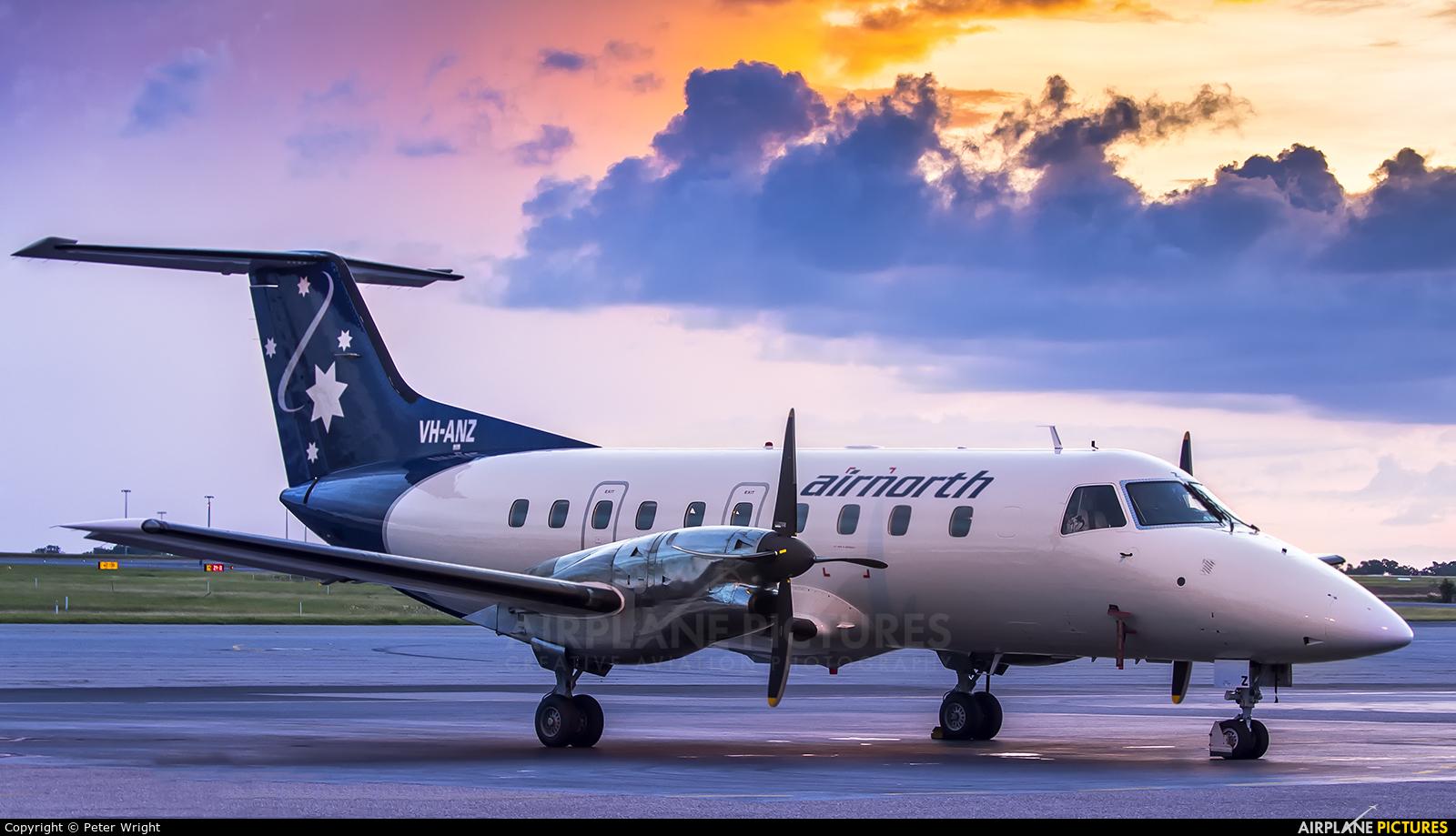 Air North VH-ANZ aircraft at Darwin international airport