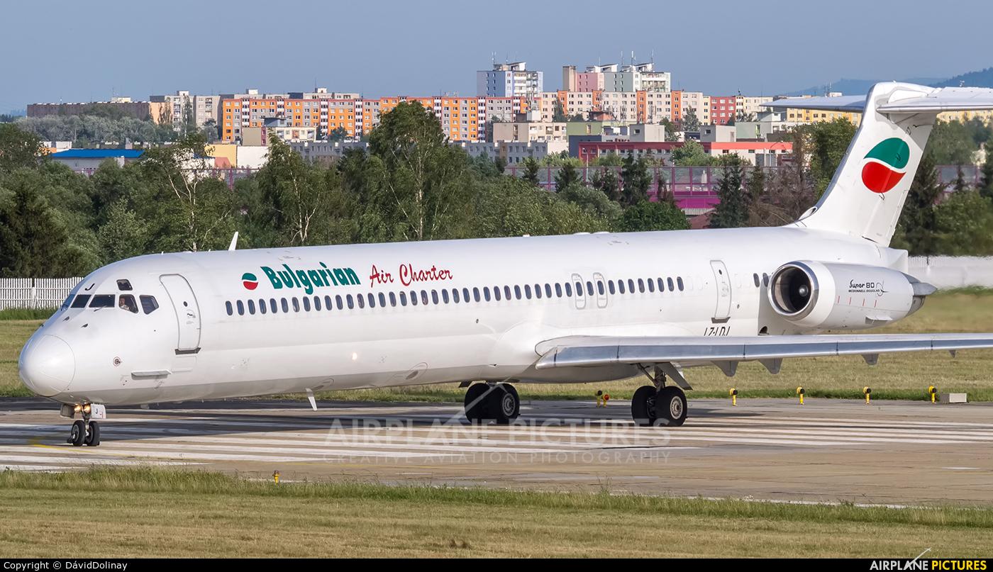Bulgarian Air Charter LZ-LDJ aircraft at Poprad - Tatry