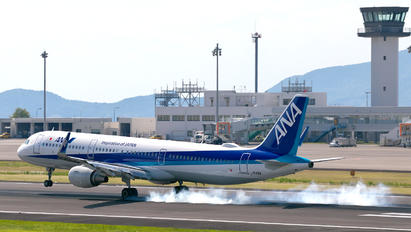 JA113A - ANA - All Nippon Airways Airbus A321
