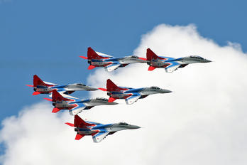 """29 - Russia - Air Force """"Strizhi"""" Mikoyan-Gurevich MiG-29"""