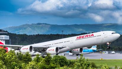 EC-LFS - Iberia Airbus A340-600