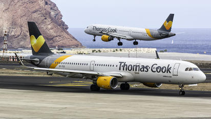 OY-TCG - Thomas Cook Scandinavia Airbus A321