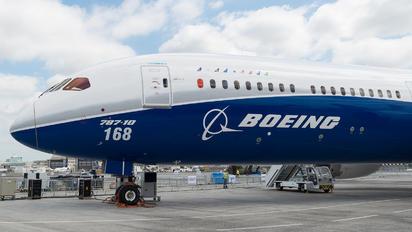 N528ZC - Boeing Company Boeing 787-10