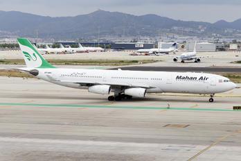 EP-MMC - Mahan Air Airbus A340-300