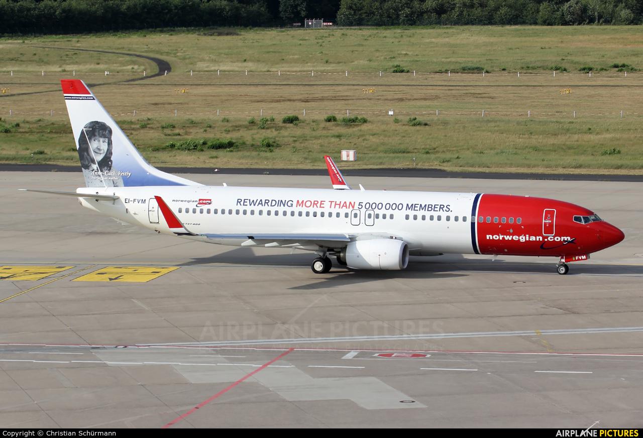 Norwegian Air International EI-FVM aircraft at Cologne Bonn - Konrad Adenauer