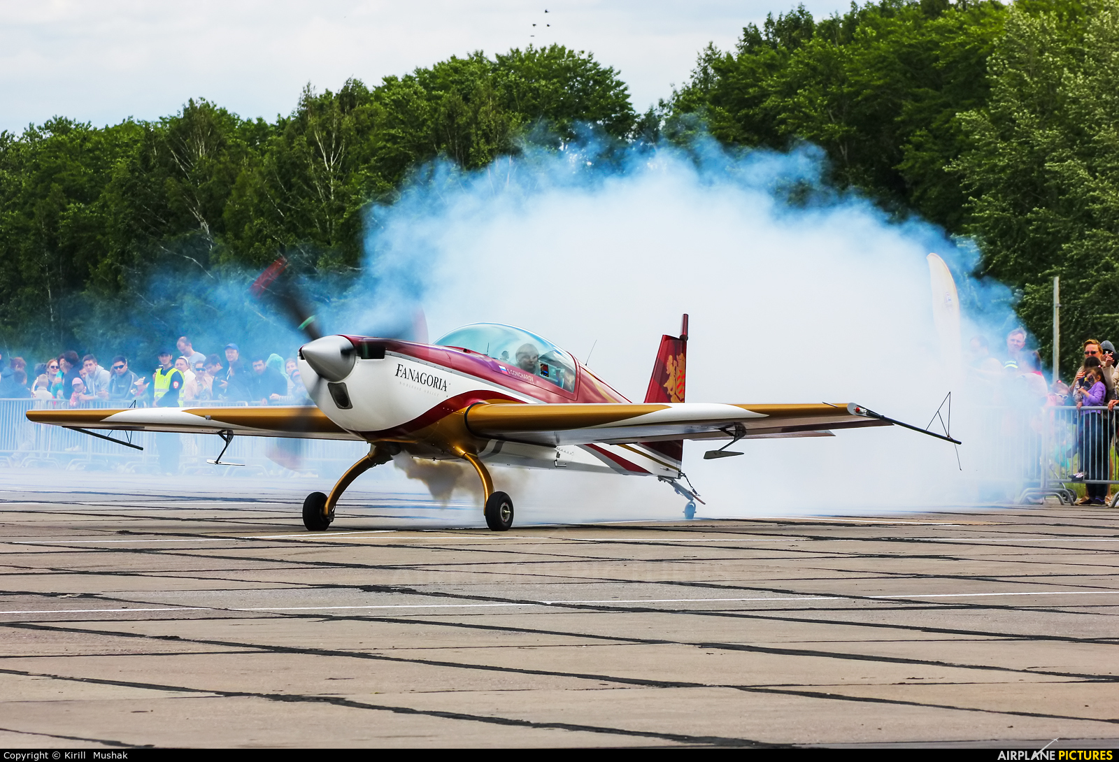 Private RA-1569G aircraft at Bolshoe Savino - Perm