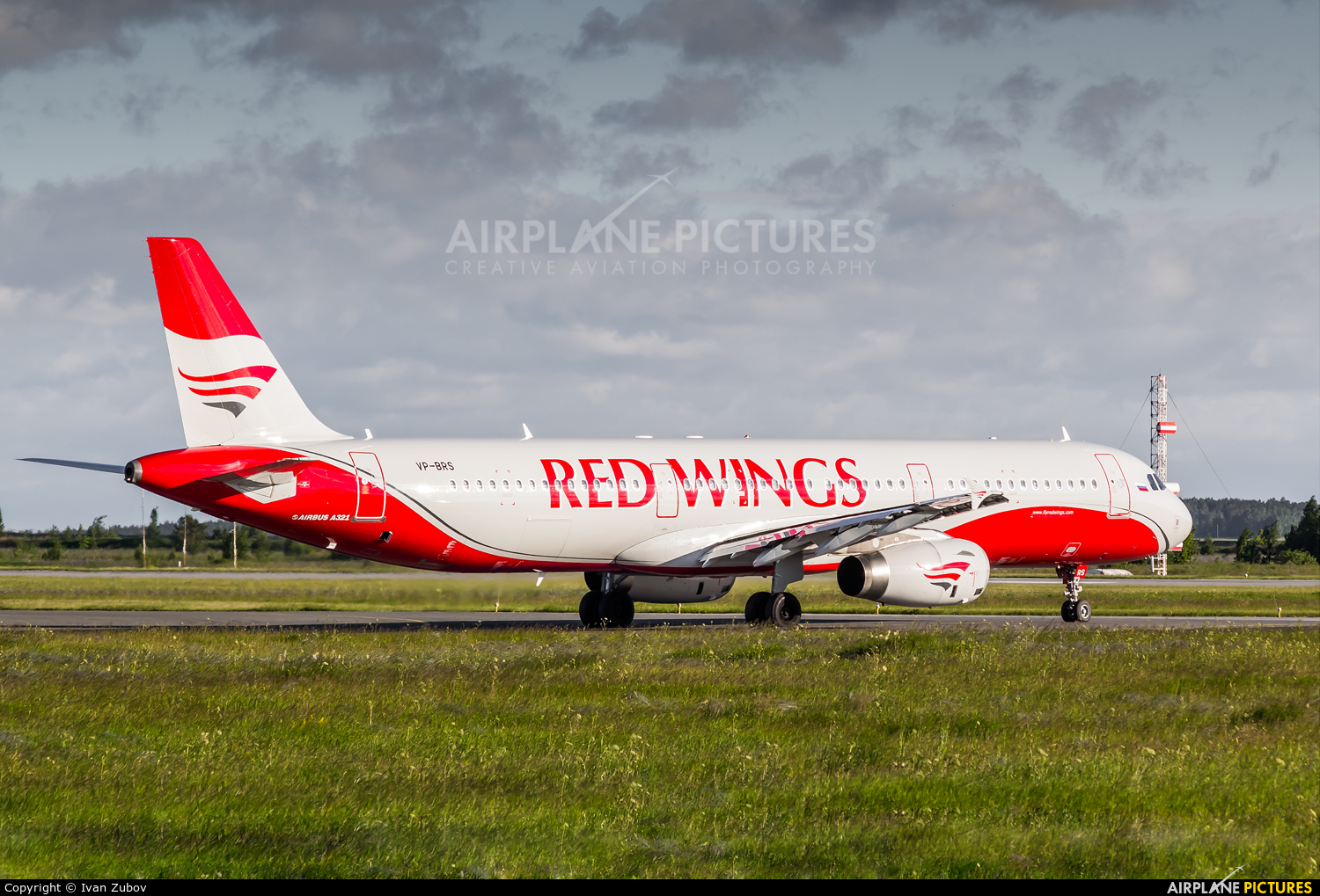 Red Wings VP-BRS aircraft at Chelyabinsk