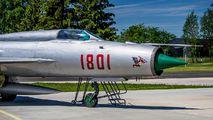 1801 - Poland - Air Force Mikoyan-Gurevich MiG-21PF aircraft