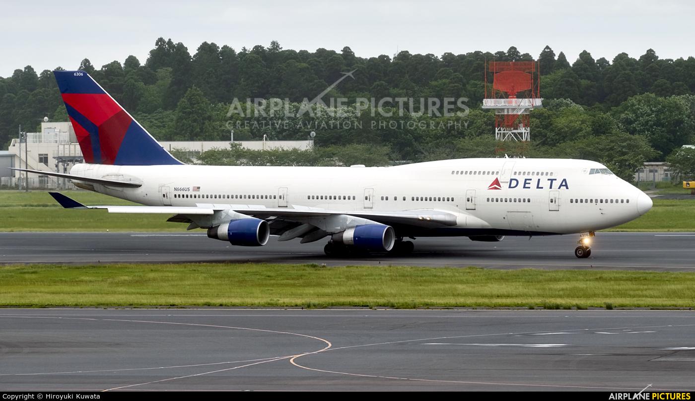 Delta Air Lines N666US aircraft at Tokyo - Narita Intl