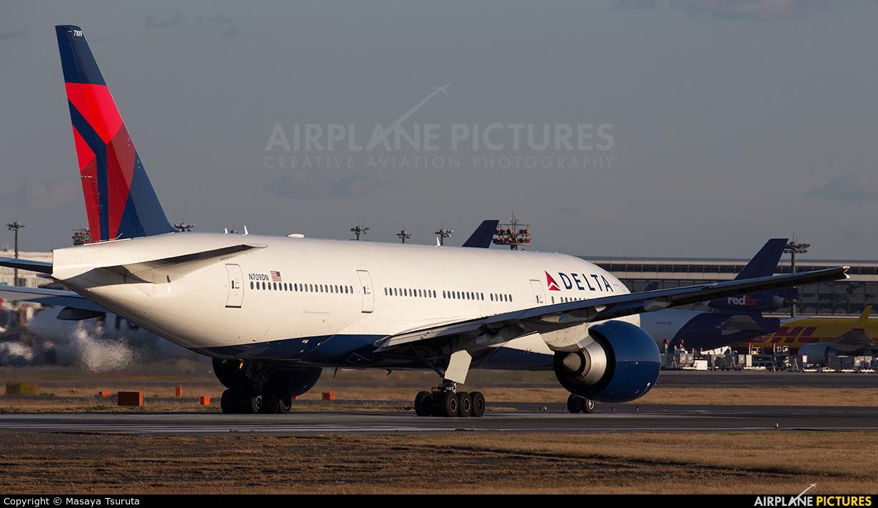 Delta Air Lines N709DN aircraft at Tokyo - Narita Intl