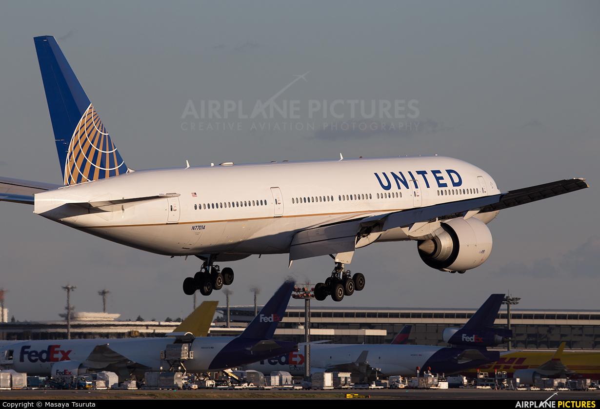 United Airlines N77014 aircraft at Tokyo - Narita Intl