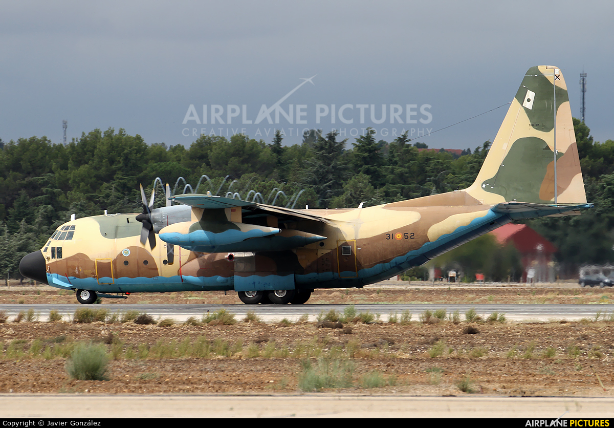 Spain - Air Force TK.10-07 aircraft at Madrid - Torrejon