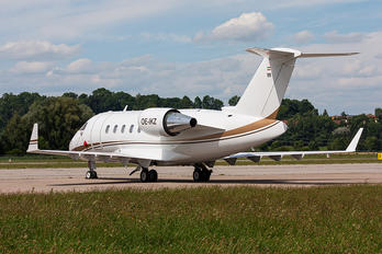 OE-IKZ - Private Bombardier Challenger 605