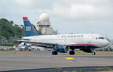 N705UW - US Airways Airbus A319