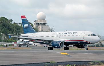 N705UW - US Airways Airbus A319