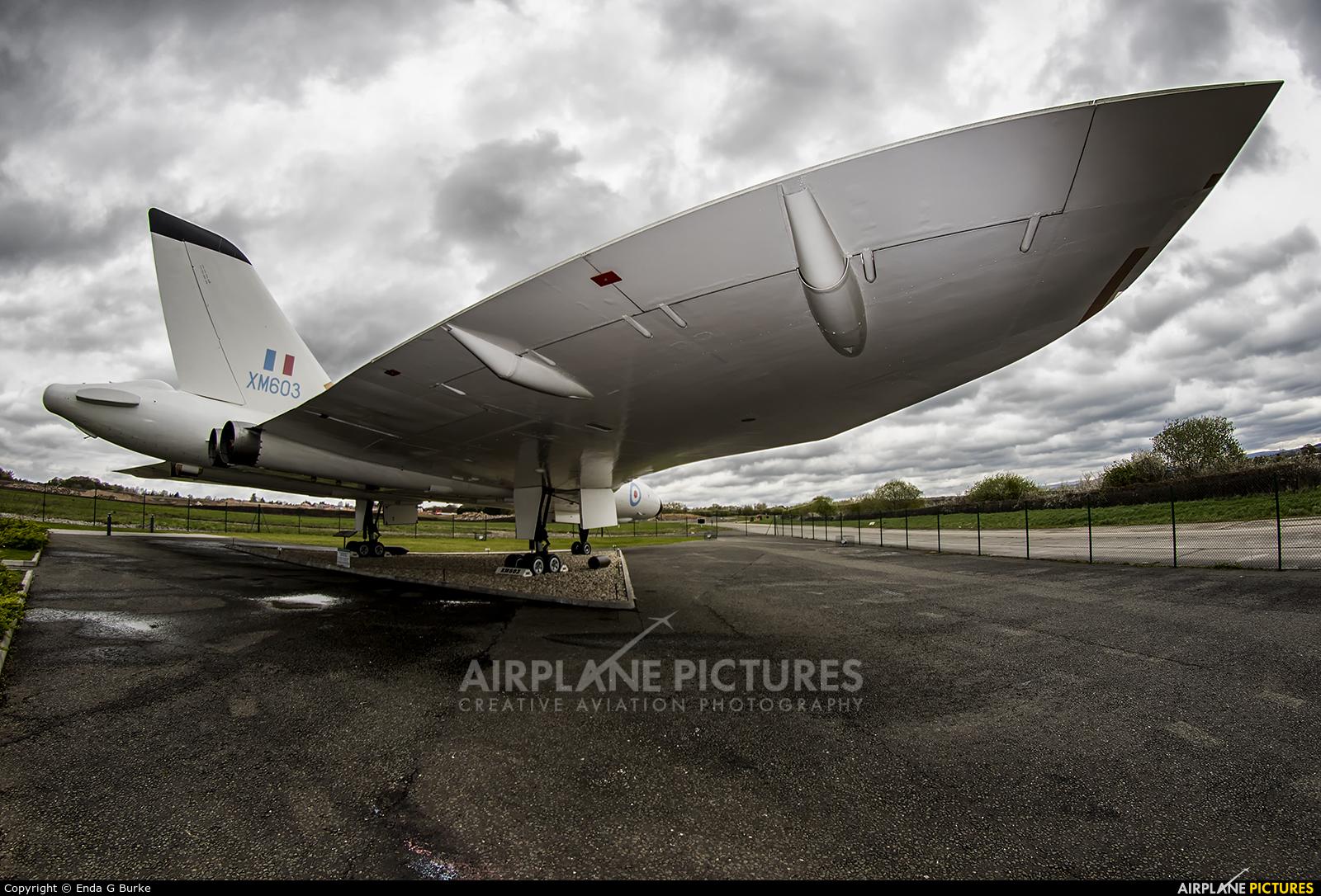 Royal Air Force XM603 aircraft at Woodford