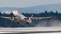 HB-JHD - Swiss Airbus A330-300 aircraft