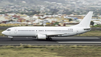 LY-GTW - GetJet Boeing 737-400