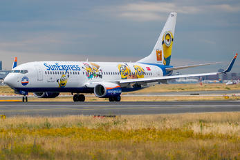 TC-SOH - SunExpress Boeing 737-8H6