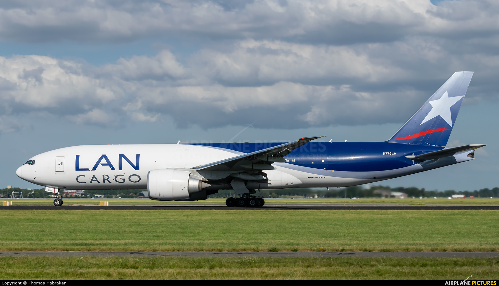 LAN Cargo Colombia N776LA aircraft at Amsterdam - Schiphol