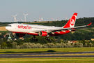 Rare visit of Air Berlin A330 to Vienna