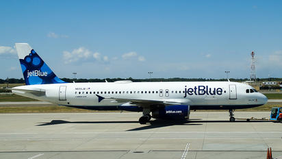N655JB - JetBlue Airways Airbus A320