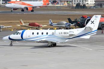 LX-SEH - Luxaviation Cessna 560XL Citation XLS