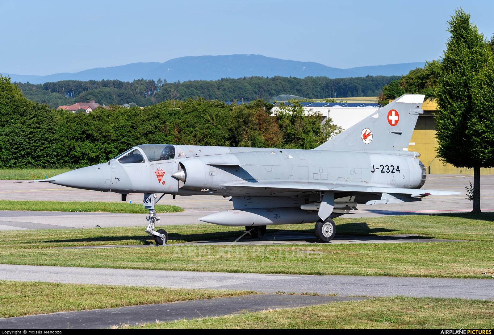 Switzerland - Air Force J-2324 aircraft at Payerne