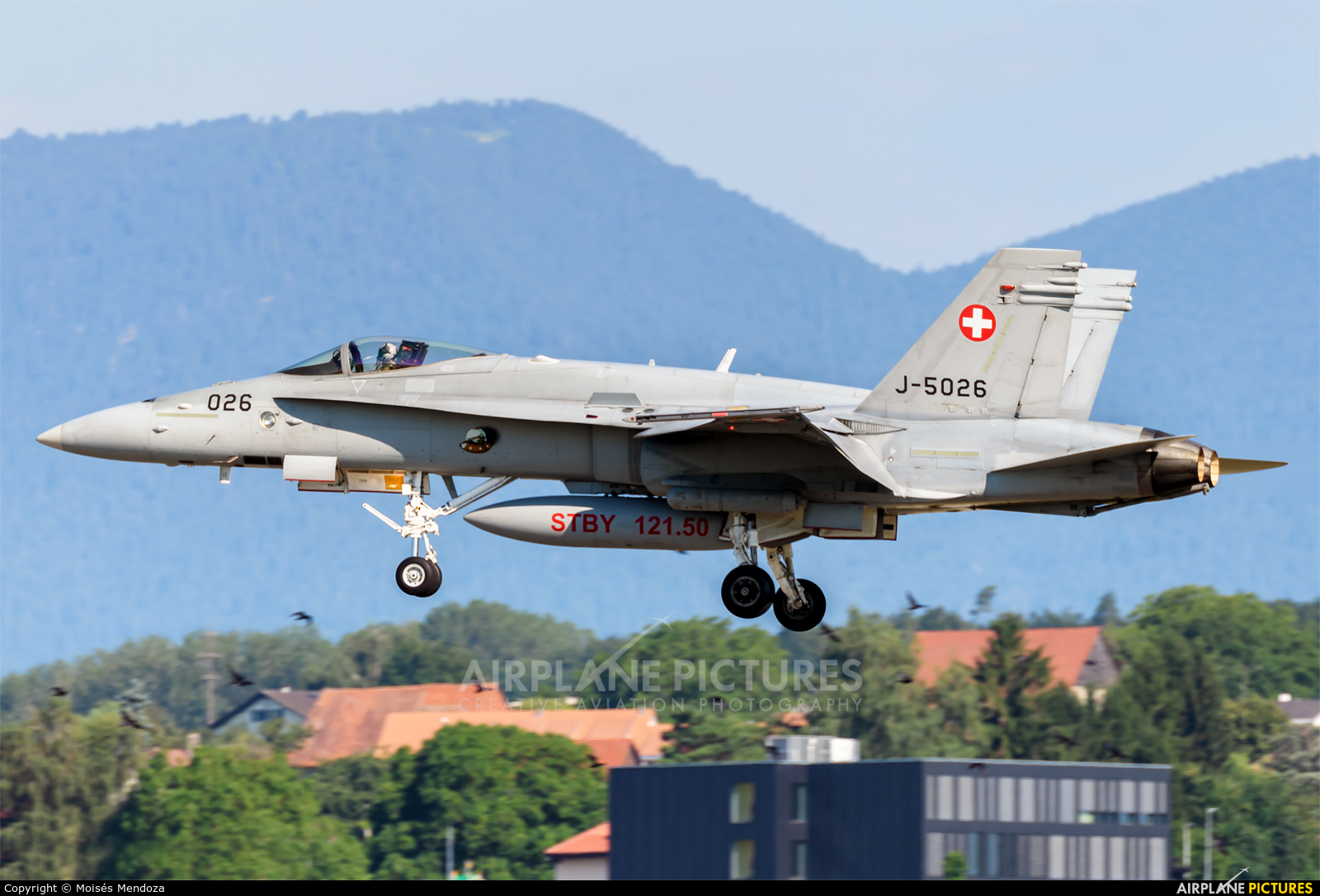 Switzerland - Air Force J-5026 aircraft at Payerne