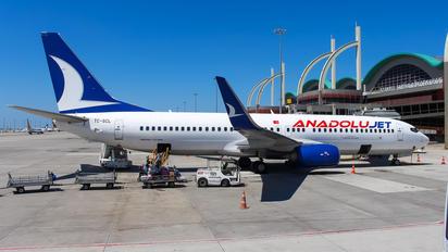 TC-SCL - AnadoluJet Boeing 737-800