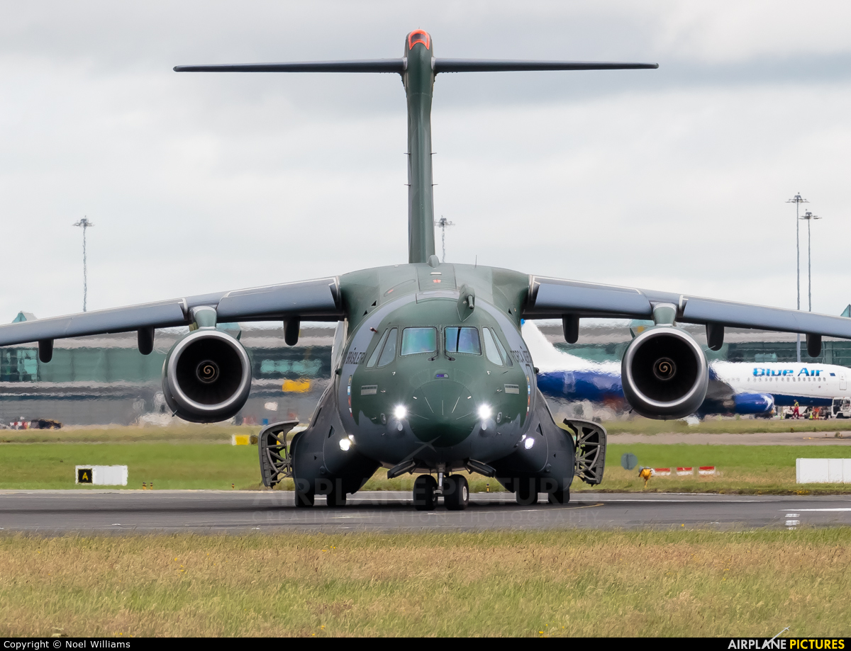 Brazil - Air Force PT-ZNJ aircraft at Dublin