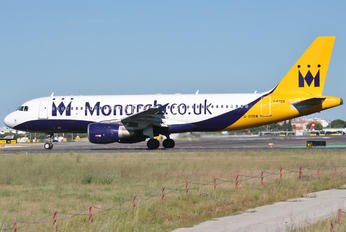 G-OZBW - Monarch Airlines Airbus A320
