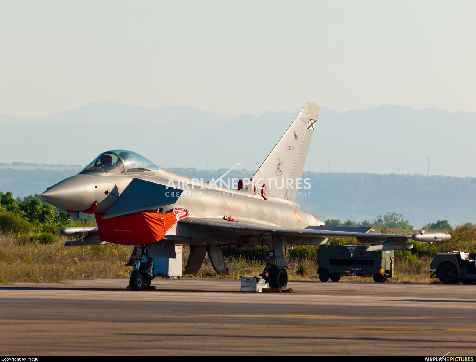 Spain - Air Force C.16-21 aircraft at León