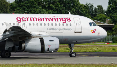 D-AGWX - Germanwings Airbus A319