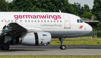 D-AGWX - Germanwings Airbus A319 aircraft