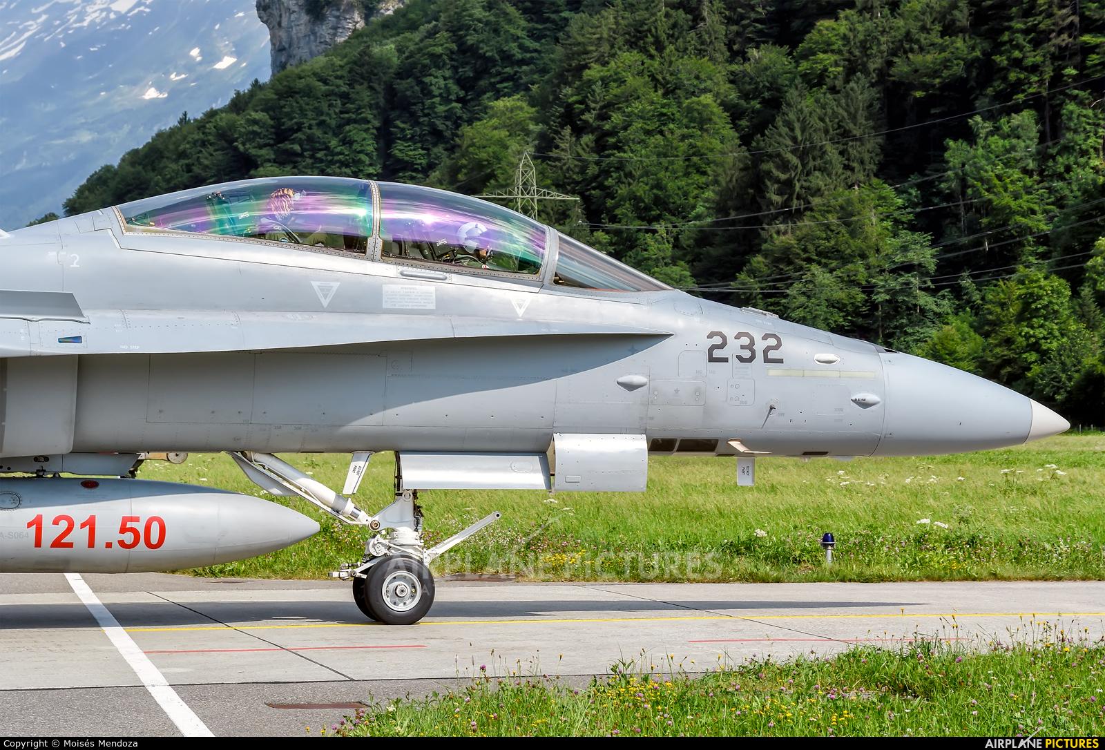 Switzerland - Air Force J-5232 aircraft at Meiringen