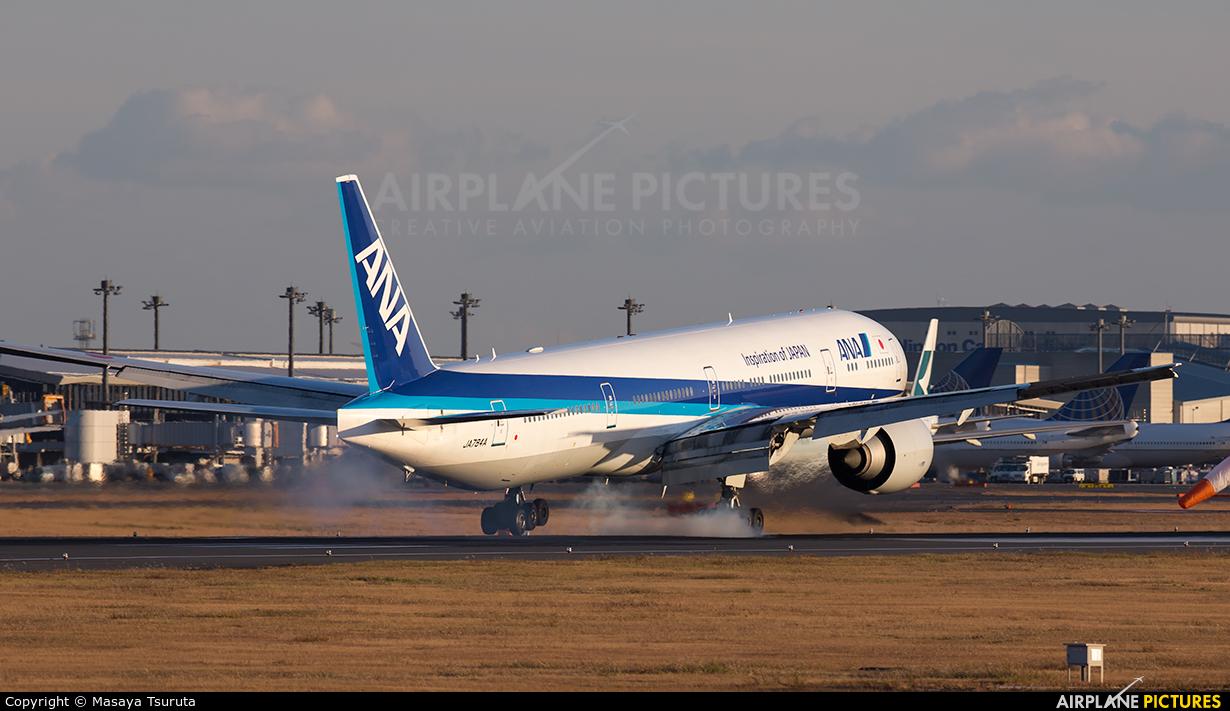 ANA - All Nippon Airways JA784A aircraft at Tokyo - Narita Intl