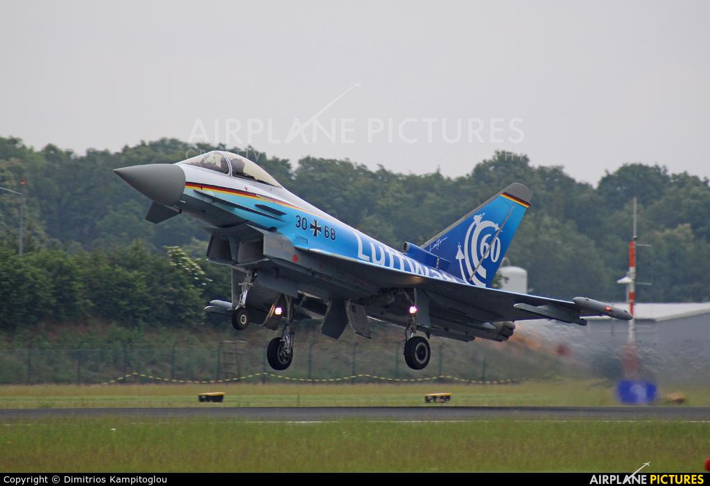 Germany - Air Force 30+68 aircraft at Neuburg - Zell