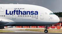 D-AIMI - Lufthansa Airbus A380 aircraft